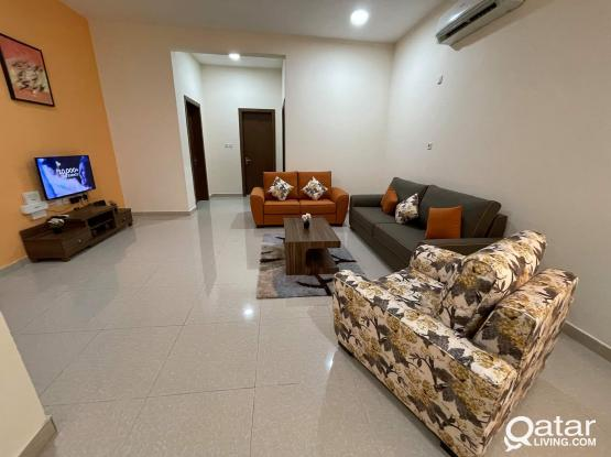 FULLY FURNISHED 2BHK FOR RENT IN AL THUMAMA ( NEAR B SQUARE MALL)