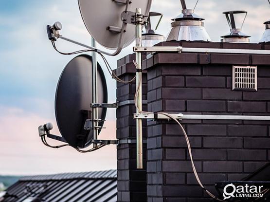 SATELITE DISH/VIDEO INTERCOM/NETWORKING/CCTV/FIBER WORKS FOR  VILLA