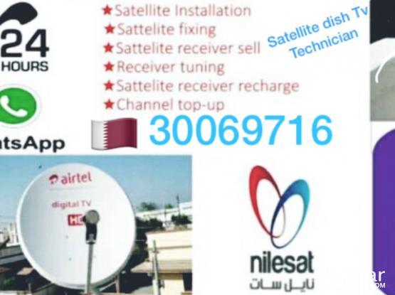 Airtel Satellite Dish Tv Installation Repair Serv