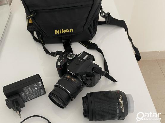 Nikon DSLR5200 and SONY HandyCam
