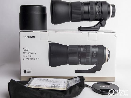 Tamron 150-600 F5 6.3 G2 Brand New Condition