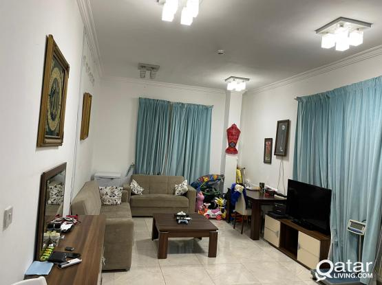 1 BHK AT AL WAKRA  FURNISHED AVAILABLE FROM 1 AUG