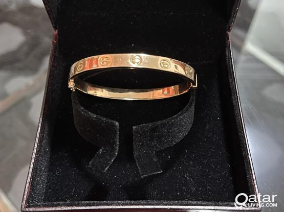 Various 18K Gold items Cartier Bangles at bargain price-URGENT SALE