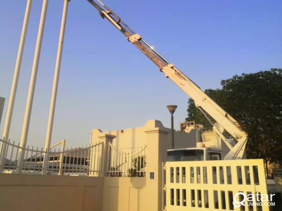 MANLIFT Truck MOUNTED 21 meters RENT