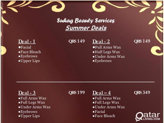 Beauty Services Summer Deal