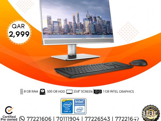 HP 800-G3 All In One (BUSINESS PC ONLY FOR PROFESSIONALS)