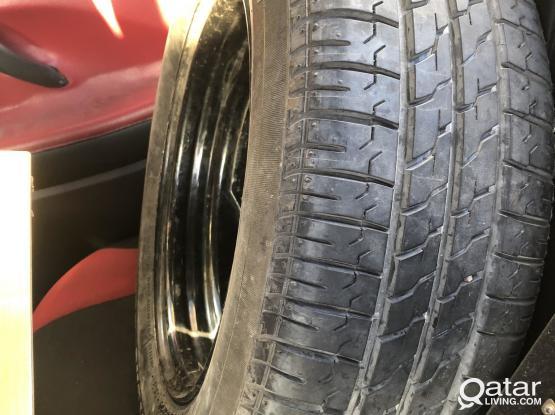 Bridgestone & rim