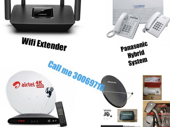 Internet Wifi Dish Tv PABX Installation Repair