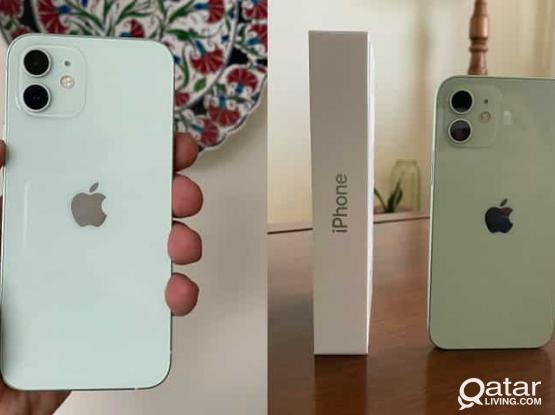 iPhone 12 Pista green 128GB. Under warranty