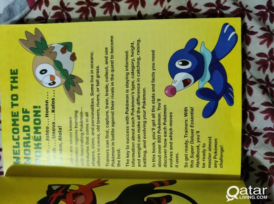 Pokemon super deluxe essential handbook for sale