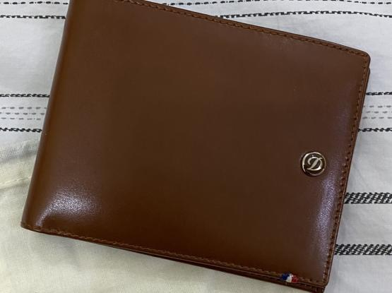 New - Unused T.S DuPont Leather Wallet