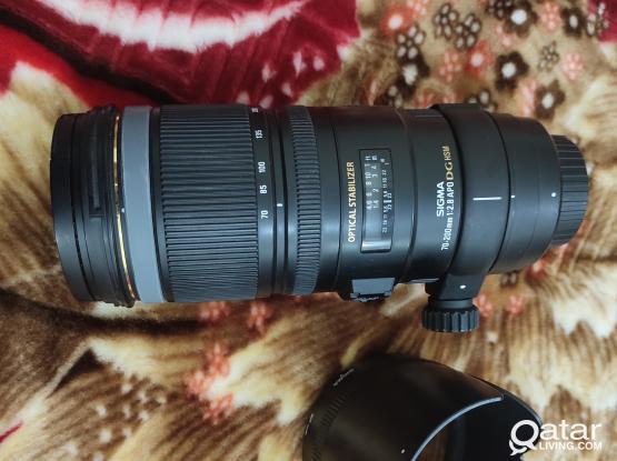 Sigma 70-200 2.8 lens APO DG