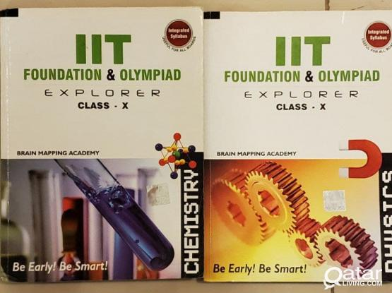 Class 10 IIT Chemistry and Physics Book