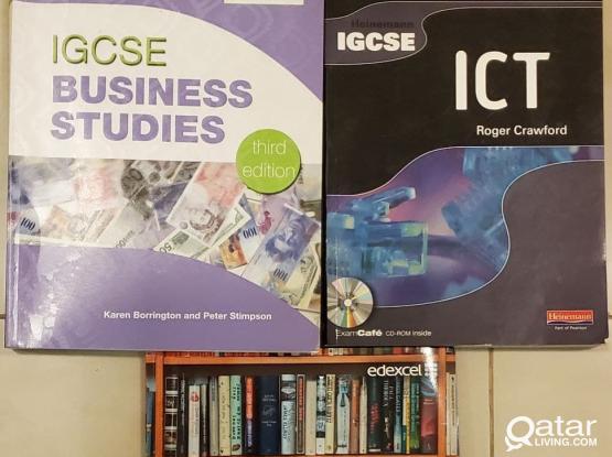 Cambridge IGCSE Business Studies and ICT Textbook.
