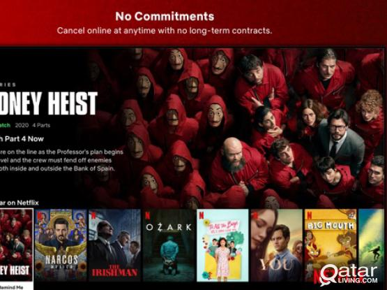 Netflix 4K access for 6 Month