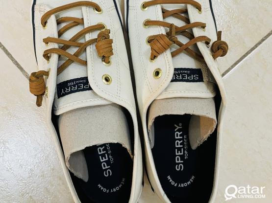 Sperry Top-Sider Seacoast Core (Ivory) w/ BOX US7 Size
