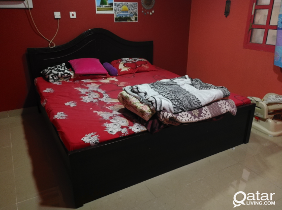 Bed with mattress 200x200