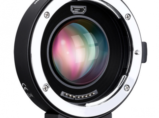 SIGMA AF 18-35MM F/1.8 DC HSM F/NIKON+Commlite EF to MFT Lens Mount AF Adapter & 0.71x Speed Booster