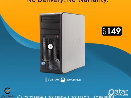 DELL OptiPlex 380 Core 2 Duo CPU only