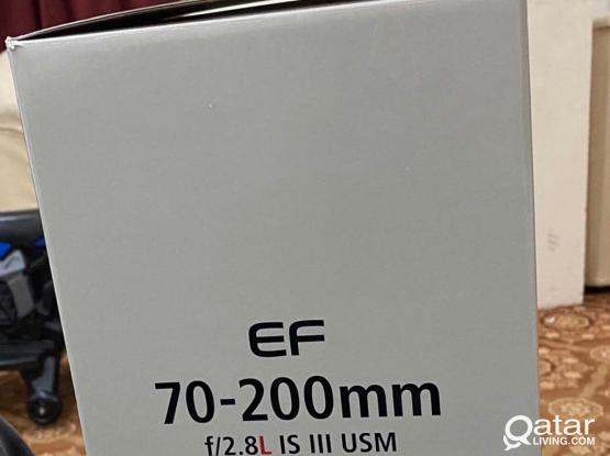 Canon 70-200 F2.8 L Is III Brand New