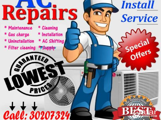 All types of Air Condition maintenance, Installation & supply