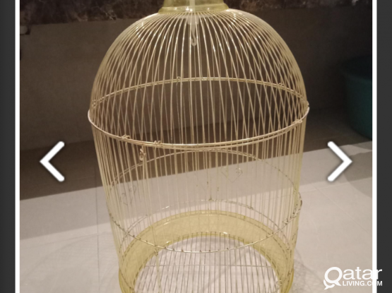 New bird cage for urgent sale