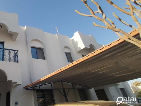 Hot Offer 2 Months Free 3 Bedroom and Hall with 3 bathroom & Back Yard in Thumama