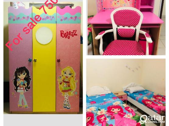 BEDROOM,BED ROOM, GIRLS ROOM, DINNING TABEL AND SOFA FOR SALE