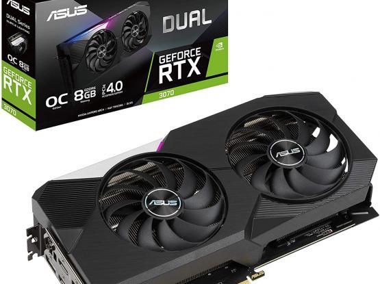 ASUS Dual RTX 3070 OC Edition