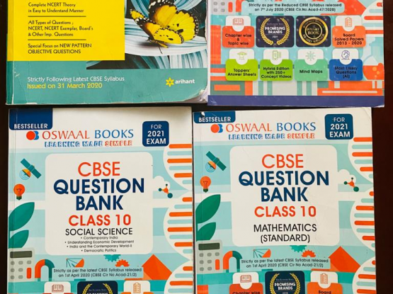 CBSE class 10 guides for sale