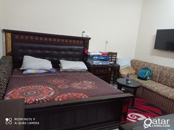 furnished spacious one bhk available in jabal including wifi and karam