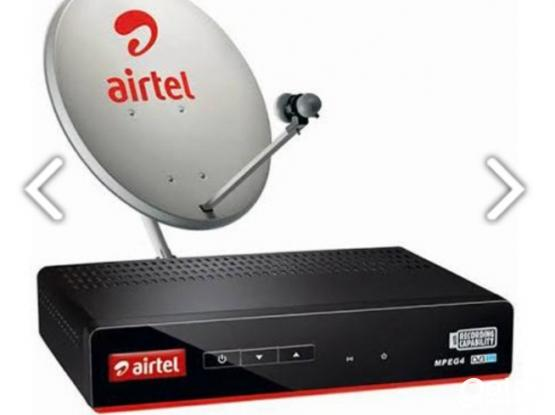 Airtel dish service and brand new hd receiver.77833729