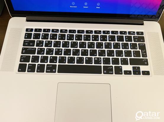 Macbook Pro 15 inch. Core i7. 16gb ram. 512 gb ssd