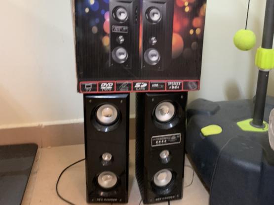 Set Of 2 Bluetooth Speakers