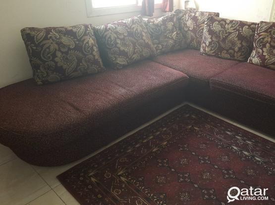 5 Seater Sofa in 650 Qr
