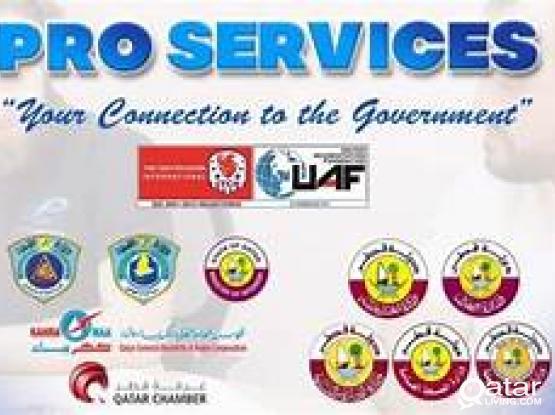 The Best  PRO Mandoob services in Qatar
