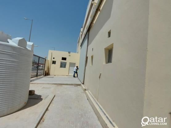 1000sqm store and work shop for rent industrial Area
