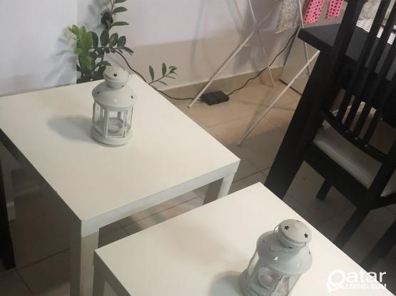 Two table with candil for sale