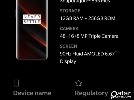 I am Selling my new ONE PLUS 7T PRO RAM 12gb 256gb