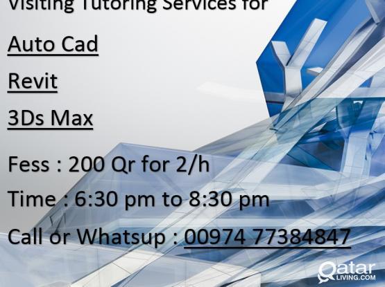 Autocad, Revit & 3D Max Teaching