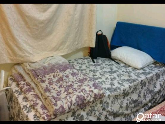 2 No. Bed space available in fully furnished  for Executive bachelors- Home Center Back side