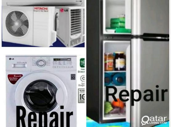 Fridge and washing machine repair. please call 55158487