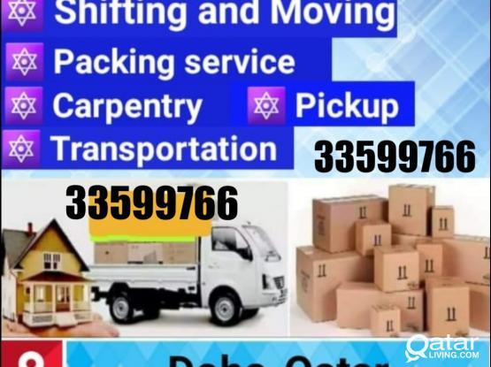 Doha movers packers Carpenter transportation Company