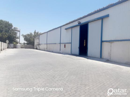 1500 SQM STORE FOR RENT
