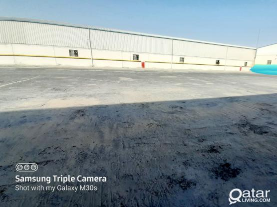 3500 SQM MECHANICAL WORKSHOP / GARAGE / STORE FOR RENT IN INDUSTRIAL AREA
