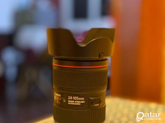 Canon 24-105 F4 Version 2  (same New )