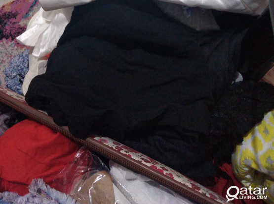 A bunch of ladies and baby girl clothes for free