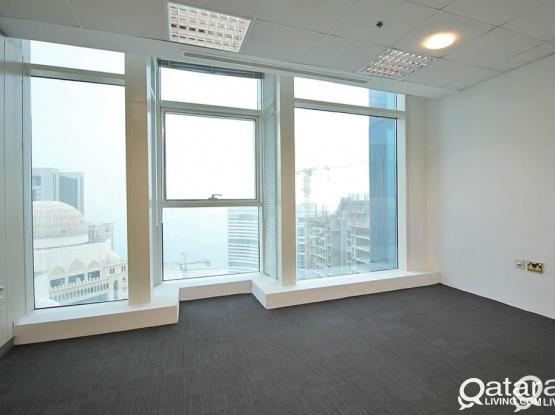 150 Sqm,375 Sqm and 750 Sqm Full and Quarter Floor Offices in Westbay