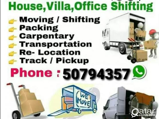 Top Shifting & Moving works at good prices. Please call 50794357