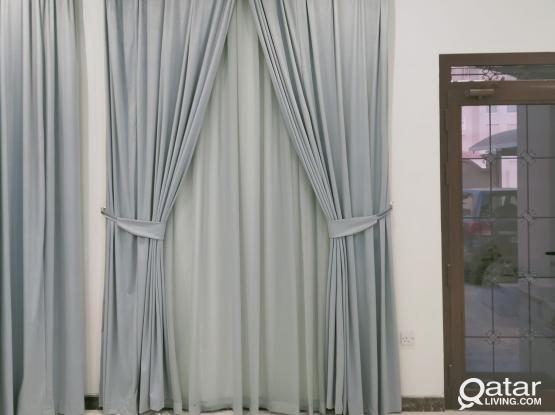 Carpets, sofa and curtains. Please call 33480023
